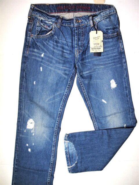 großer Verkauf Einkaufen größter Rabatt Tommy Hilfiger denim men's collection size 34x32 ripped fray regular button  fly