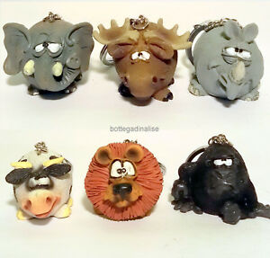 Keychain-Animals-Les-Alpes-IN-6-Versions-014-92830-Fun-Animal
