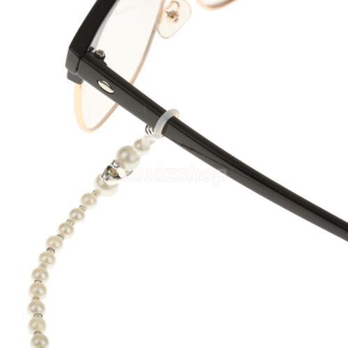 Brillenband Eyeglass Straps Brillenträger Brillensicherung Bügel Perlenkette