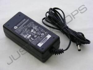 Originale Polycom CP-7971G-GE 7970G 48V 0.38A 19W Adattatore AC Caricatore PSU