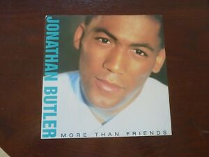 Jonathan-Butler-More-Than-Friends-Promo-LP-Record-Photo-Flat-12x12-Poster