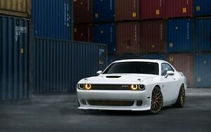 Dodge Challenger SRT Hellcat Car Auto Art Silk Wall Poster Print 24x36""