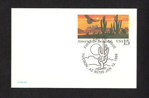 Details About Scott Ux 127 America The Beautiful U S Fdc Postal Stationery Mint Card
