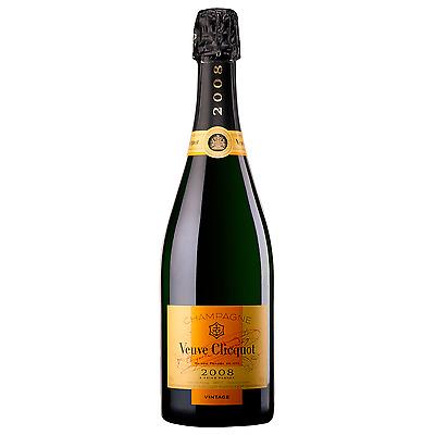 Veuve Clicquot Vintage bottle Pinot Noir Chardonnay Pinot Meunier Wine 750mL
