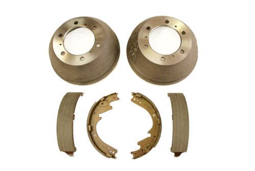 FB634 3.0TD Mitsubishi Canter FB631 2.8TD Rear Brake Shoe /& Drum Kit 98-/>
