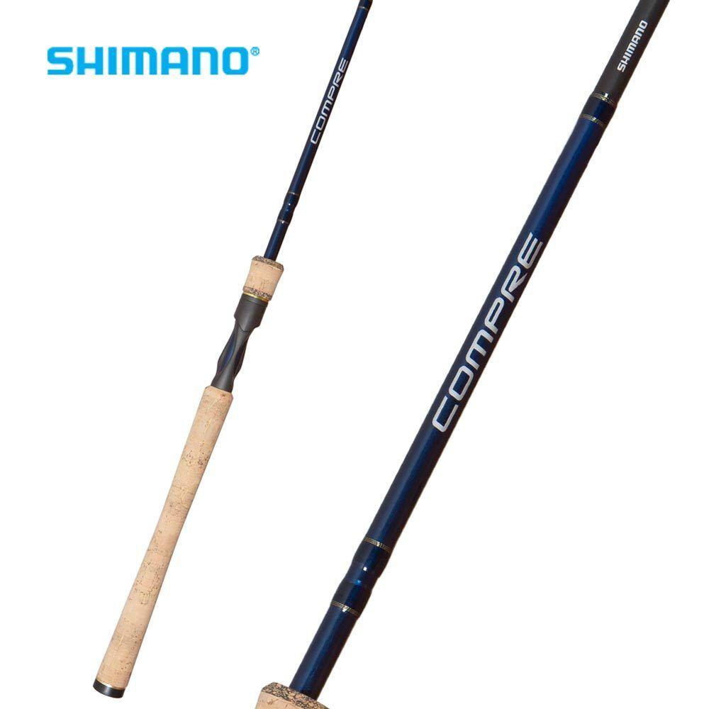 Shimano Compre Spinning Rod CPS66ML2E 6'6  Medium Light 2pc