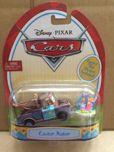 Easter Mater Combined Postage Tire Basket Included! DISNEY CARS DIECAST