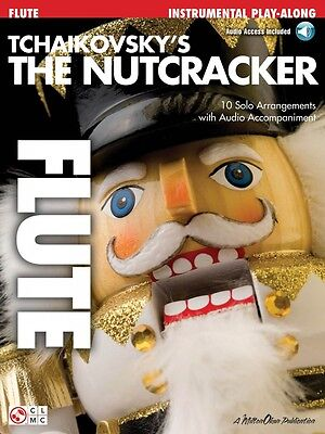 Tchaikovsky's The Nutcracker Flute Play-along Book With Online Audio 002500998 To Enjoy High Reputation In The International Market Wind & Woodwinds Instruction Books, Cds & Video