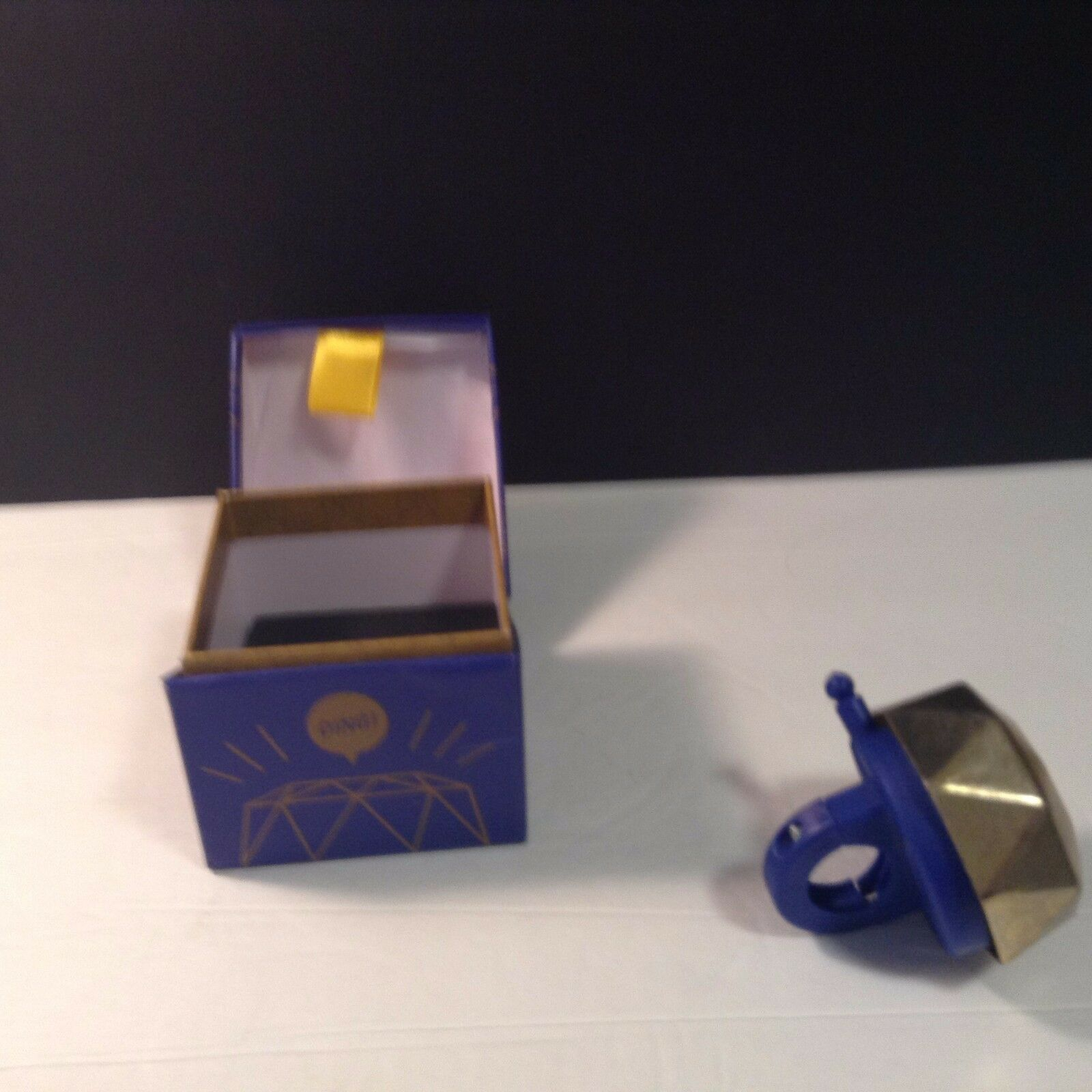 kikkerland RING TO IT Bike Bicycle Bell #BB40 Golden Jewel boxed StudioFrisco