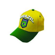 10e98c67aad Brazil cap hat flag any sports World Cup Olympics Brasil Soccer baseball
