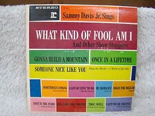 Sammy Davis Jr. Sings What Kind of Fool Am I And Other Vinyl Album, Reprise Recs