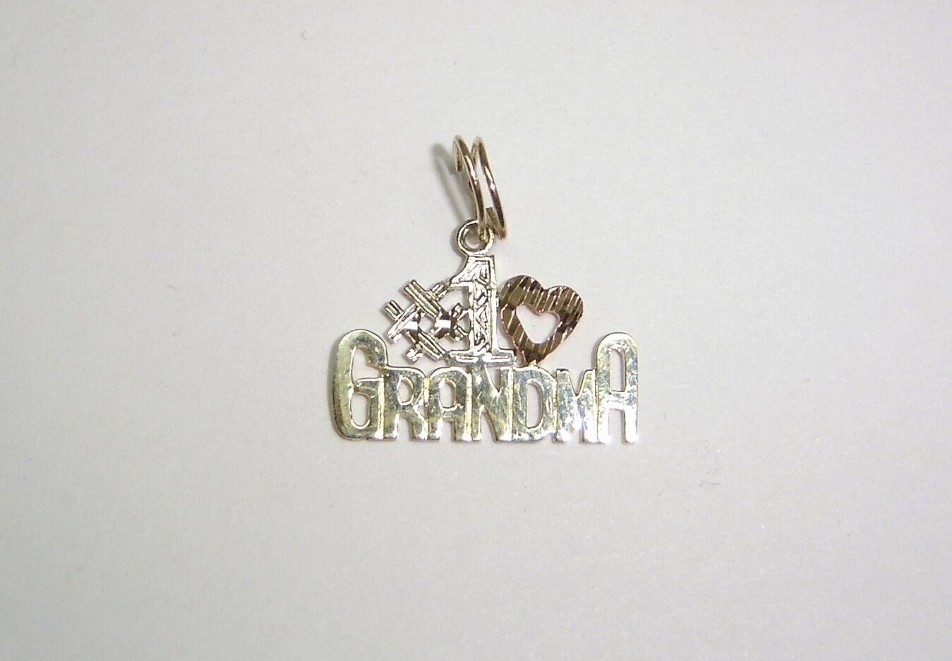 GRANDMA PENDANT IN 14K YELLOW, WHITE, & pink gold N503-U