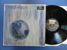 A WORLD OF BLUES VOL 1 Imperial French Laminated LP EX