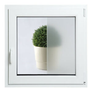 outlet store cd3be 35df1 Details about uPVC TILT - TURN frosted glass PVC Double Glazed Window Frame  and Glass