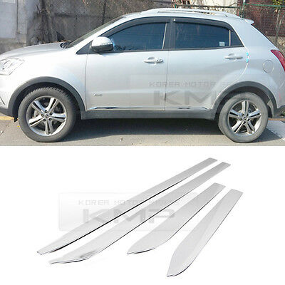 //// New Korando C Chrome Door Catch Molding  For Ssangyong  Korando  C 2011~on