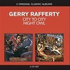 City to City/Night Owl by Gerry Rafferty (CD, Mar-2011, 2 Discs, EMI)