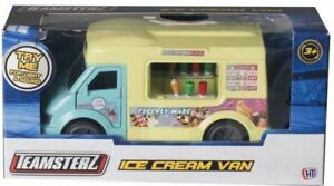 Musical-Ice-Cream-Van-Lights-amp-Sounds-Die-cast-Toy-Model-Vehicle-Kids-Teamsterz