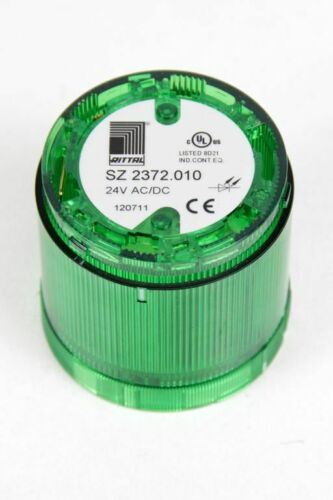 RITTAL LED Signalsäule Sockelmontage SZ 2372 rot gelb grün blau Sirene 24VDC