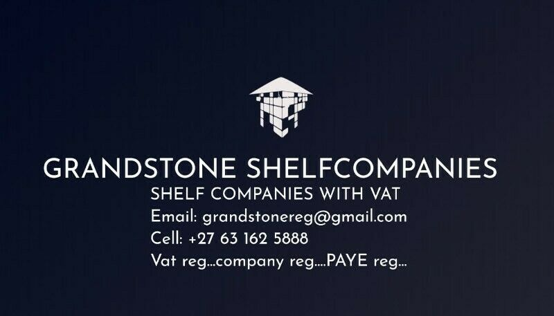 Shelf Companies – with a VAT Registration Number & PAYE