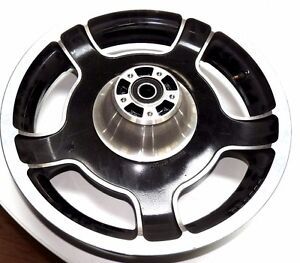 Used Harley Davidson Wheels >> Details About Oem Harley Davidson Airstrike Front Wheel For All Tourings 47871 10 Used