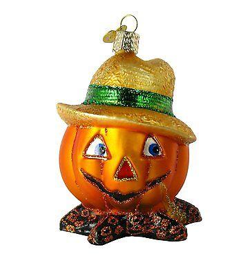 Merck Family's Old World Christmas Country Bumpkin Ornament 26050 NEW Halloween