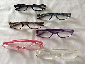 Slim-Small-Frame-Reading-Glasses-Peer-Over-Spectacles-Good-for-Work-B
