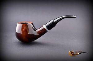Fait à la Main en Bois Pipe pour Tabac Poire No 67 Marron + Filtre 7f8d7nKD-09152853-287511281