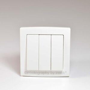 Interrupteur-de-lumiere-3-gang-2-way-10A-studio-plastique-blanc-abb-concept-AC107
