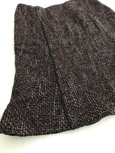 in con indossata delicatamente Buchman misto lana Dana 8 montatura Gonna in Pet pelle taglia BFH1ZEx