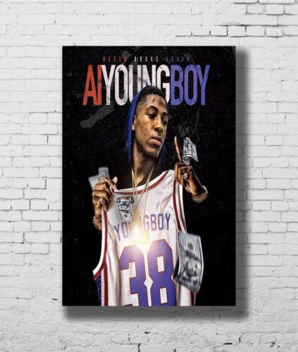 24x36 14x21 40 Poster AI Youngboy Never Broke Again New Album Art Hot P-2048