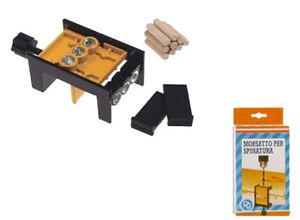 Morsetto per spinatura completo di tasselli in legno e for Guida per spinatura