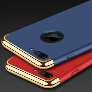 For-iPhone-X-6-6s-7-Plus-Case-Plating-Shockproof-Ultra-Thin-Hybrid-Hard-Cover