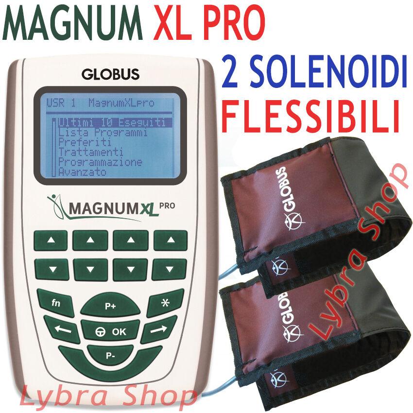 Globus G3956 MAGNUM XL PRO - 2 solenoidi FLESSIBILI FLESSIBILI FLESSIBILI - 500 Gauss Magnetoterapia 371efd
