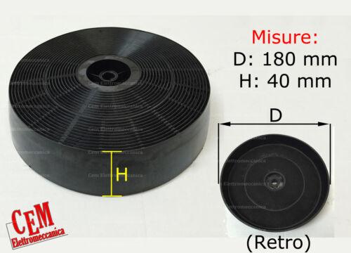 Filtro ai carboni attivi per cappa 180 x 40 mm cucina Teka Gorenje Amica Ikea