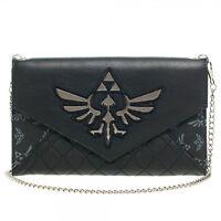 Nintendo Zelda Quilted Envelope Wallet With 48 Chain