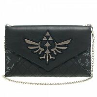 Nintendo Zelda Quilted Envelope Wallet With 48 Chain