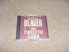 Jeffrey deaver.The Twelfth card.Audio book cd...