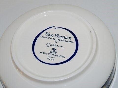 Porcelæn, Blå Fasan  Asiet, Blå Fasan  Asiet