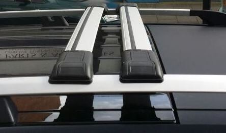 VW CADDY LOCKABLE CROSS BARS ROOF BARS RACK 75 KG LOADING CAPACITY 2003-2019