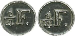Gastfreundlich Norddeutschland Ca.1700 Wertmarke 1 /4 Fuder Torf Selten Ss/ss-vz Hell In Farbe