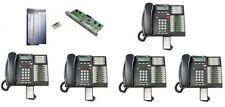 Nortel Norstar Phone System Cics 71 4x16 4 Lines 16 Exts Amp 5 T7316e Phones