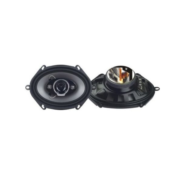 "Pulsar PE-574 350W 5/"" x 7/"" 4-way Coaxial Car Stereo Speaker System"