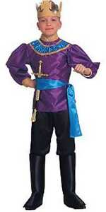 Deluxe-Renaissance-Faire-Little-King-Purple-Blue-Costume-w-Crown-Rubies-10645