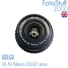 HOLGA HL-C Canon DSLR Holga Lens F8.0 60mm Black UK Stock HL C TH