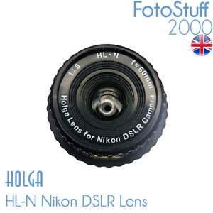HOLGA-HL-N-Nikon-DSLR-Holga-Lens-F8-0-60mm-Black-Brand-New-UK-Stock-HL-N