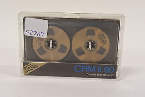 Reel-Cleer-CRM-II-90-minute-Blank-Audio-Cassette-Tape-Reel-to-Reel-NEW-90min