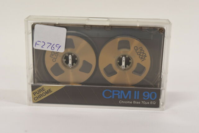 Reel Cleer CRM-II 90 minute Blank Audio Cassette Tape -Reel to Reel NEW 90min