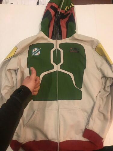 Star Wars Full Cover Boba Fett Hooded Jacket - XL