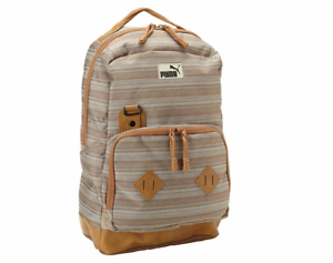 Image is loading PUMA-PMAM1215BRN-CONDUCTOR-Brown-Polyester-Back-Pack 987c3959bd8f9