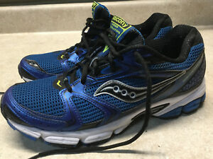 1891f2b6fa51 Details about Mens Saucony Grid Stratos 5 Size 9.5 Blue Sneaker Shoes  Running